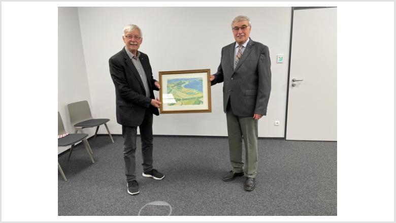 Verabschiedung Ulrich Brüggemeier durch Holger Schwien